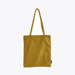 Velvet-yellow-totebag