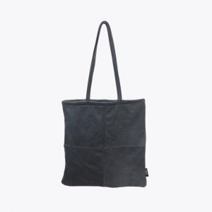 navy-blue-leather-square-totebag